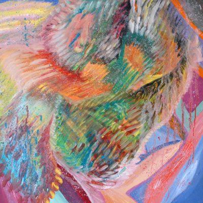 nuotaika, tapyba, paveikslas, paveikslai, menas, abstrakcija, gediminas bytautas