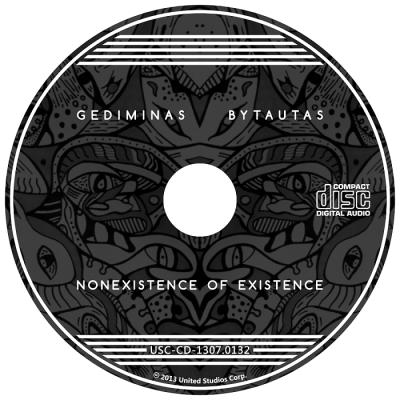 CD, muzikos albumas, music album, nonexistence of existence, Gediminas Bytautas