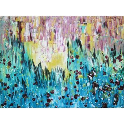 aliejine tapyba, paveikslas, paveikslai, hidroponinis sodas, menas, abstrakcija, gediminas bytautas