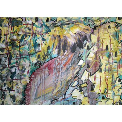 tapyba, paveikslas, paveikslai, aliejine, kvatro, dimensinis, verksmas, menas, gediminas bytautas