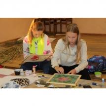 Šilko tapyba, tapyba ant šilko, šilkas, meno kursai, tapybos pamoka, tapymas, silkas, silko, silk, gėlė