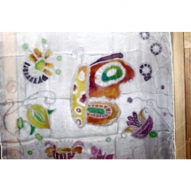 Šilko tapyba, tapyba ant šilko, šilkas, meno kursai, tapybos pamoka, tapymas, silkas, silko, silk, gėlės, drugelis