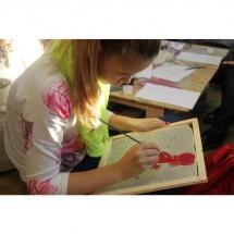Šilko tapyba, tapyba ant šilko, šilkas, meno kursai, tapybos pamoka, tapymas, silkas, silko, silk,