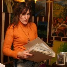 būrėja, dailininkė, Odilė Norvilaitė, paveikslai, menas, parapsichologė, tapyba, ragana