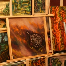 dailininkė, paveikslai, menas, Odilė Norvilaitė, tapyba, būrėja, ragana, parapsichologė