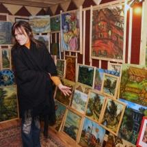 dailininkė, būrėja, Odilė Norvilaitė, paveikslai, menas, tapyba, ragana, parapsichologė, ekstrasensė