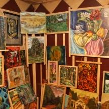 dailininkė, ragana, Odilė Norvilaitė, būrėja, paveikslai, parapsichologė, ekstrasensė, tapyba