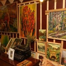 paveikslai, tapyba, Odilė Norvilaitė, dailininkė, paveikslas, menas, būrėja, ragana, parapsichologė