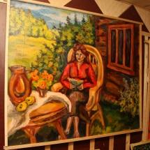 Dailininkė, paveikslai, Odilė Norvilaitė, paveikslas, tapyba, menas, būrėja, žiniuonė, parapsichologė, burtininkė