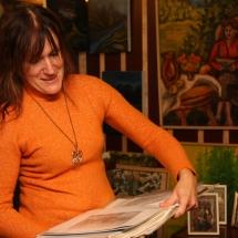 Ragana, būrėja, dailininkė, Odilė Norvilaitė, tapyba, paveikslai, paveikslas, menas, būrėja, parapsichologė