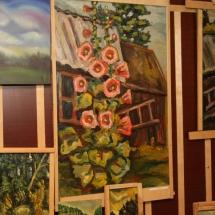 Dailininkė, Odilė Norvilaitė, tapyba, paveikslai, paveikslas, būrėja