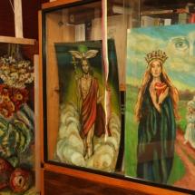 Odilė Norvilaitė, paveikslai, dailininkė, būrėja, parapsichologė, tapyba