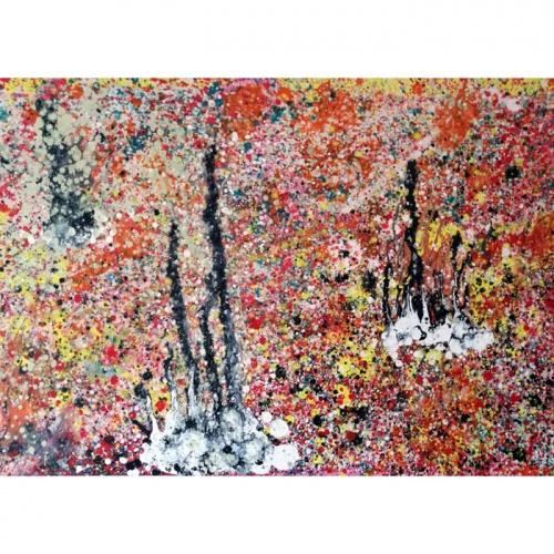 buties, buties preliudija, preliudija, moderni abstrakcija, paveikslas, paveikslai, abstrakcija, abstrakti tapyba, aliejine tapyba, gediminas bytautas
