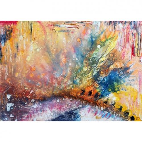 tekmes atspindziai, tekmes, atspindziai, tapyba, tapytas paveikslas, menas, paveikslai, aliejumi tapytas paveikslas, gediminas bytautas