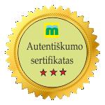 autentiskumo sertifikatas, autentika, menas, sertifikatas