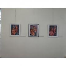 paveikslai, vibracija, tapyba, paveikslas, Odile, Odile Norvilaite Bytautiene, Odile Norvilaite, Kretingos muziejus, paroda, ekspozicija