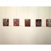 paveikslai, paroda, Odile Norvilaite Bytautiene, Kretingos muziejus, ekspozicija, tapyba, vibracija