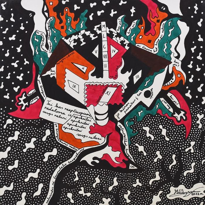 cancer era, moder, futuristic, abstract, art, abstraction, painting, graphic, graphics, fantastic, gediminas bytautas