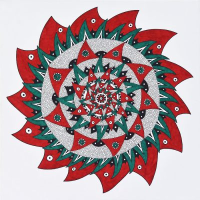 mandala, ornamental, graphic, graphics, painting, paintings, art, abstract, abstraction, gediminas bytautas
