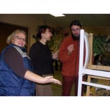 tapyba ant baldų, pamoka, tapybos pamoka, painting on furniture, lesson, Gediminas Bytautas