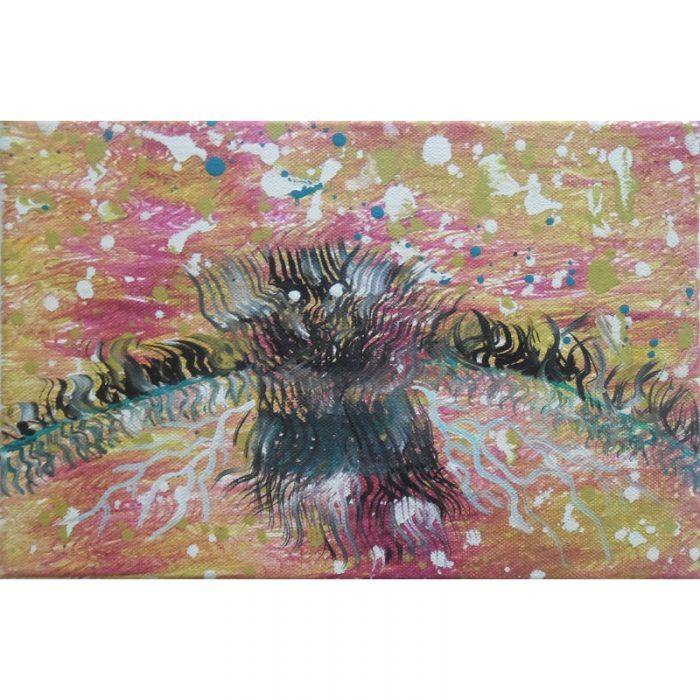 aurora, creator, painting, abstraction, abstract, art, paintings, oil, gediminas bytautas