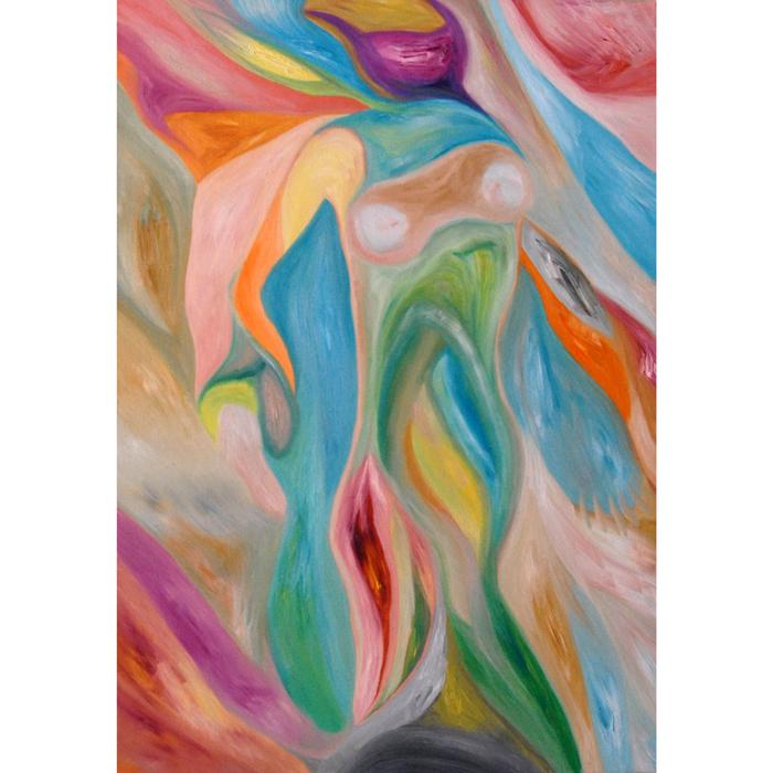 personifikacija, tapyba, aliejine, paveikslas, paveikslai, menas, fantastiniai, abstrakcija, abstrakti, abstraktus, gediminas bytautas