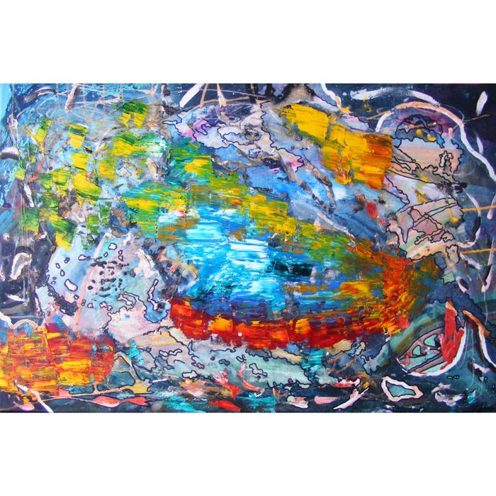 transcendencija, buti, butis, aliejumi, akrilu, tapytas, tapyba, paveikslas, paveikslai, menas, abstrakcija, gediminas bytautas