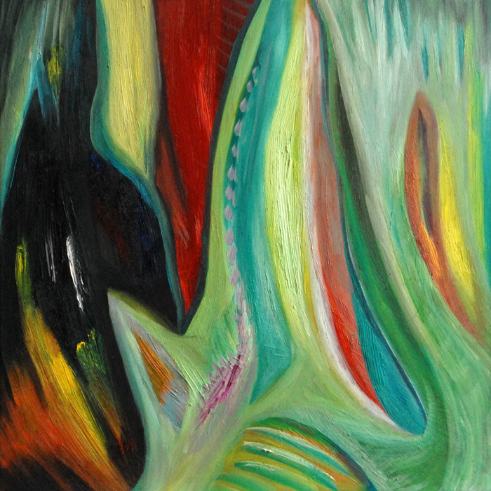 viltis, aliejine tapyba, paveikslas, paveikslai, abstrakcija, menas, gediminas bytautas