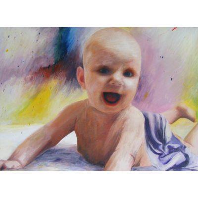 tapyba, paveikslas, paveikslai, vaikas, portretas, painting, kid, portrait