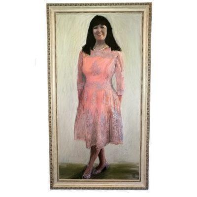 Paveikslas, moters figūra, portretas, tapyba, paveikslai, painting, women figure, portrait