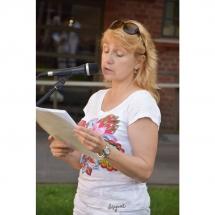 Elena Karnauskaitė, poetė, poezija, eilės, virudvasarop skaitymai, poezijos, Klaipėdoje, Klaipėda