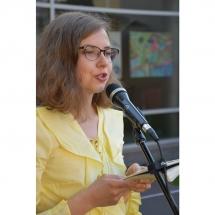 Eligija Barkutė, žurnalistė, poetė, poezija, vidurvasario skaitymai, poezijos, Klaipėda, Klaipėdoje