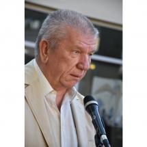 Juozas Šikšnelis, prozininkas, biblioteka, bibliotekoje, KLaipeda, Klaipedoje