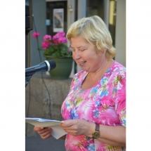Poetė, Jūratė Sučylaitė, poezija, poezijos skaitymai, vidurvasario, Klaipėda, Klaipėdoje