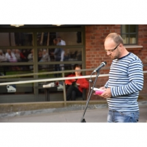 poetas, Viktoras Rimkus, poezija, vidurvasario poezijos skaitymai