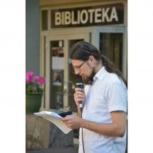 Gediminas Bytautas, poetas, muzikantas, filosofas, dailininkas, poezija, Klaipedoje, biblioteka