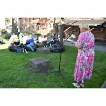 Poetė, Jūratė Sučylaitė, poezija, poezijos, vidurvasario skaitymai, Klaipėdoje, Klaipėda