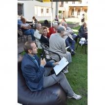 Renginio vedėjas, poetas, Darius Rekis, poezija, vidurvasario poezijos skaitymai
