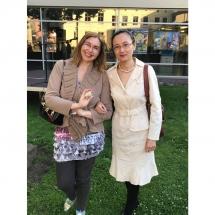 Rimantė, vertėja, Sue, vidurvasario poezijos skaitymai, Klaipėdoje