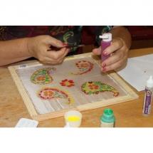 Šilko tapyba, tapyba ant šilko, šilkas, meno kursai, tapybos pamoka, tapymas, silkas, silko, silk,, ornamentas