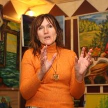 Dailininkė, būrėja, Odilė Norvilaitė, menas, paveikslai, ragana, parapsichologė,