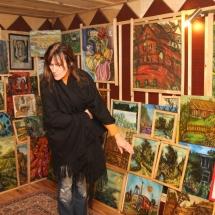 dailininkė, parapsichologė, Odilė Norvilaitė, paveikslai, tapyba, menas, būrėja, ragana