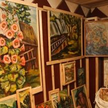 Dailininkė, Odilė Norvilaitė, paveikslai, menas, tapyba, ragana, būrėja, parapsichologė, šamanė, ekstrasensė