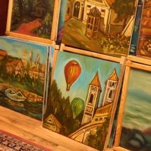ragana, paveikslai, paveikslas, menas, Odilė Norvilaitė, būrėja, parapsichologė, tapyba