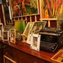 paveikslai, dailininkė, Odilė Norvilaitė, būrėja, ragana, tapyba, menas,