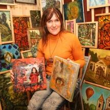 Odilė Norvilaitė, ragana, dailininkė, būrėja, parapsichologė, burtininkė, žiniuonė, tapyba, paveikslai, paveikslas