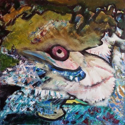 skrydis, trys, pauksciu jura, pauksciu, jura, abstrakcija, abstrakti tapyba, paveikslas, paveikslai, abstrakcija, menas