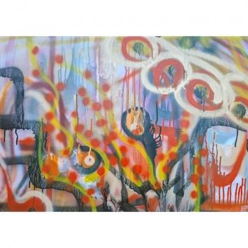 Nokimo metas, Gediminas Bytautas, metas, nokimo, paveikslai,tapyba,paveikslas, tapybos paveikslas, menas, gėlės, misri technika, tapytas paveikslas, tapyti paveikslai, the time of ripening, the time, ripening, the time of, paintings, painting, art