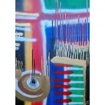 spindulio ekspresija, Gediminas Bytautas, ekspresija, spindulio, tapyba, tapybos paveikslas, paveikslas, paveikslai, menas, beam expression, expression, beam, painting, paintings, art
